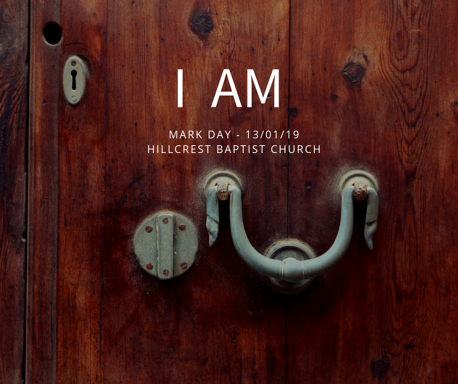 I AM series: The Door – Mark Day