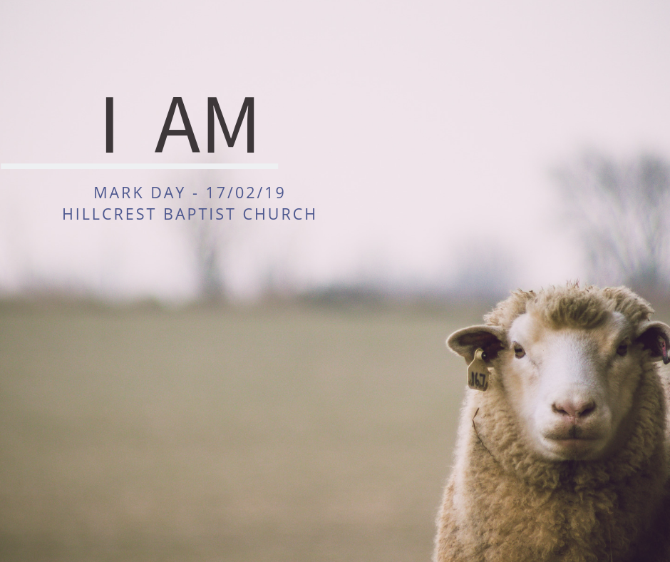 I AM series: The Good Shepherd – Mark Day