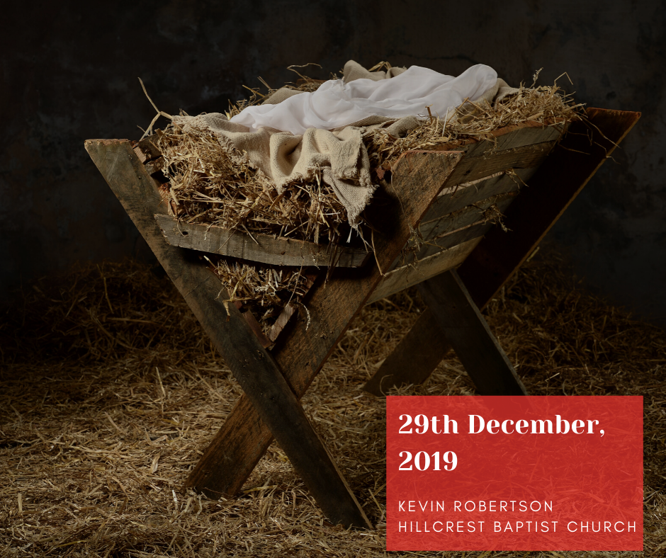29th December, 2019 – Kevin Robertson