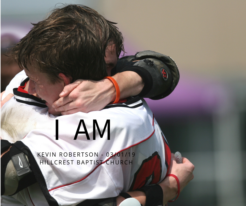 I AM series: With You – Kevin Robertson