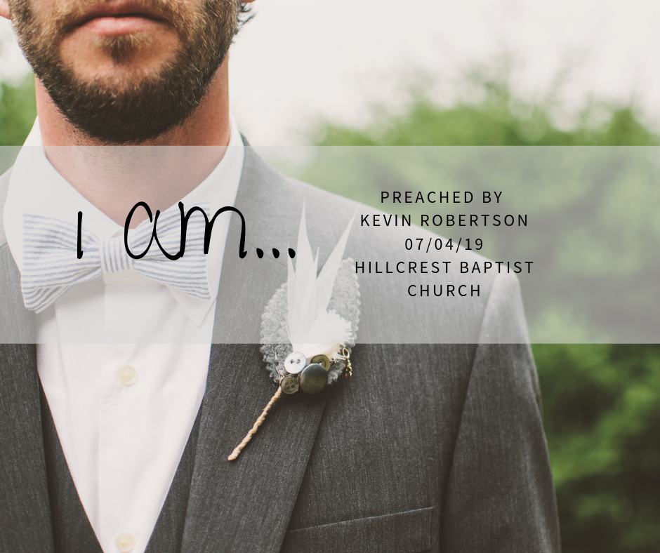I AM Series: Coming – Kevin Robertson