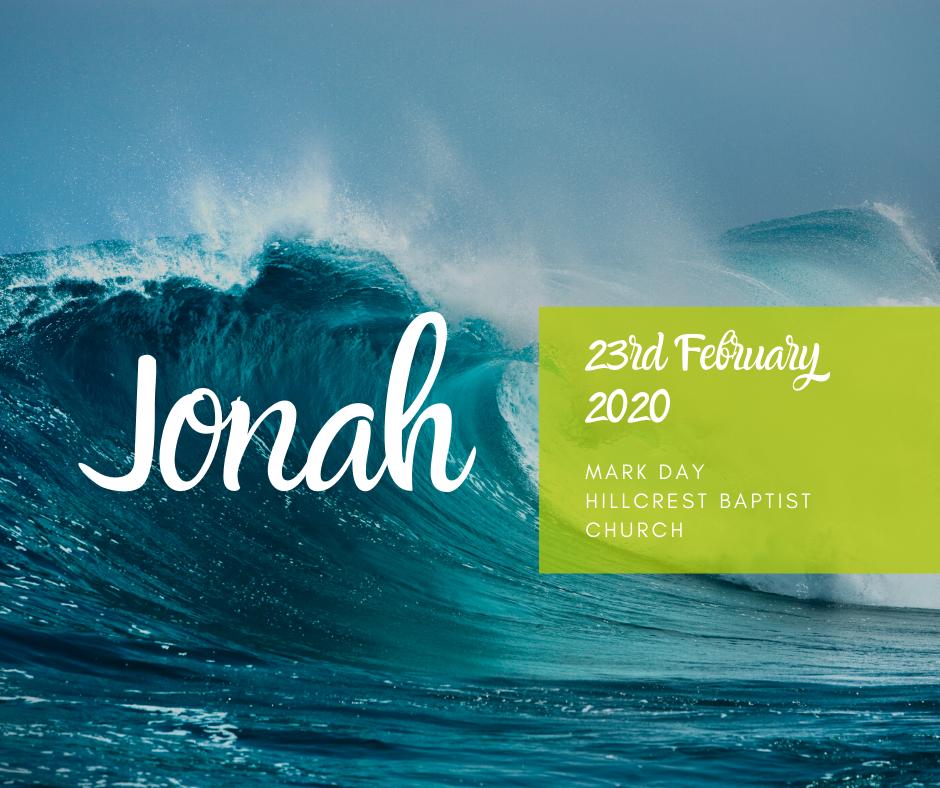 23rd February 2020, Mark Day 'Jonah'